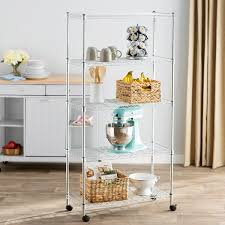 If you're more of a fiestaware accept that some shelves might be more decorative than functional. Kitchen Storage Organization