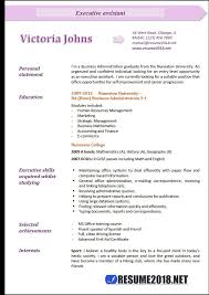 Executive Assistant Resume Examples 40 Resume 40 Unique Executive Administrative Assistant Resume
