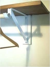 sloped ceiling clothes rod bracket sloped ceiling closet rod bracket s clothes sloped ceiling clothes rod