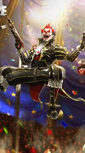 Night Clown Garena Free Fire 4K Ultra ...
