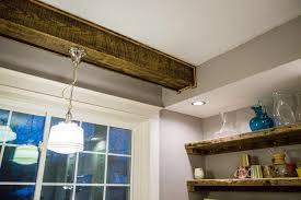 reclaimed wood beam faux wood soffit78 wood