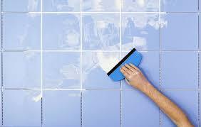 regrouting tile