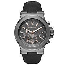 men s michael kors watches ernest jones michael kors men s stainless steel strap watch product number 5712394