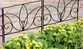 Decorative Garden Fencing Choosing Garden Fences Inmyinterior