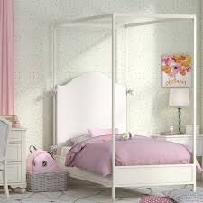 Lc Kids Summerset Metal Canopy Bed Wayfair White ~ Ananthaheritage