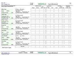 Payroll Sheet Samples 40 Free Payroll Templates Calculators Template Lab