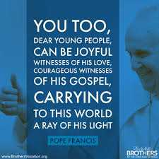 brothers vocation tuesday online retreat deepening discerning pope francis brothers vocation quote 3