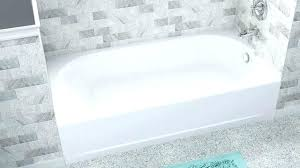 standard bathtub with steam shower size american ovation tub wall installation ba