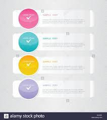 Infographic Website Template Modern Inforgraphic Template Can Be Used For Banners Website Stock
