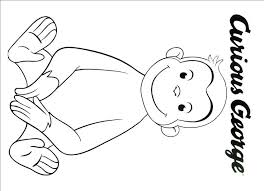 Curious George Coloring Book Disney Coloring Pages
