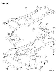 1994 jeep wrangler frame diagram 00000do9