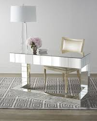 Regina Andrew Design Quinlan Mirrored Writing Desk Intended For