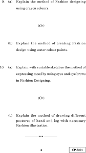 Apparel Design Textiles And Construction Workbook Answers Fashion Design Computer Basics Practical Time 3 Hours