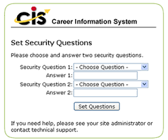 Technical Support Questions New Jersey Career Assistance Navigator Technical Frequently Asked