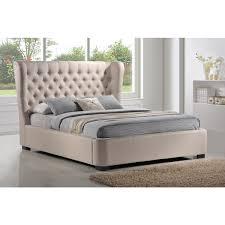 Impressive Inspiration Fabric Platform Bed Marvelous Decoration