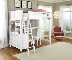 1040 Twin Size Loft Bed Lakehouse collection