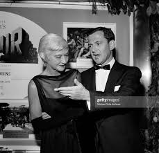 Actor Tony Randall with wife Florence Gibbs attend the premiere of... News  Photo - Getty Images