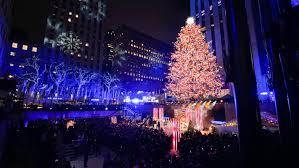 Rockefeller Tree Lighting 2019 Photos The 2019 Rockefeller Center Christmas Tree Is Lit