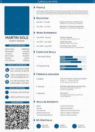 Best Free Resume Template Manificent Design Template Curriculum Vitae Fanciful 100 Best Free 14