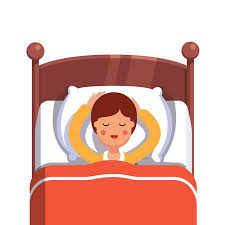 kids bed clipart. Fine Clipart Teen Boy Sleeping Peacefully Smiling In Her Bed Flat Style Modern Vector  Illustration Isolated On To Kids Bed Clipart P