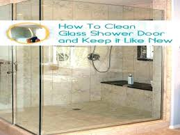keep glass shower doors clean how glass shower doors cleaning