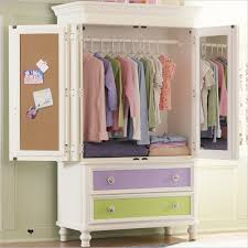 white wood wardrobe armoire shabby chic bedroom. Bedroom:Kids Girl Room Decor With White Chic Wood Wardrobe Armoire Uwing Double Doors And Shabby Bedroom