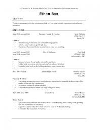 Process Worker Resume Objective Elegant Fast Food Cashier For