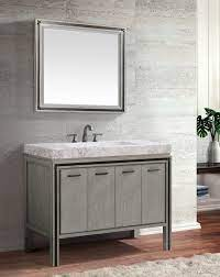 Avanity Dexter Single 43 Inch Transitional Bathroom Vanity Rustic Gray