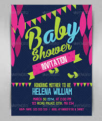 Baby Shower Invitation Backgrounds Free Adorable Baby Shower Invitation Template 44 Free PSD Vector EPS AI