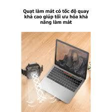 Giá đỡ laptop và máy tính bảng bằng hợp kim nhôm có quạt tản nhiệt tiện  dụng đa năng cho Laptop, điện thoại, đọc sách - Hệ thống tản nhiệt