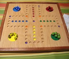 Wooden Aggravation Board Game FREE SHIPHandmade woodAGGRAVATIONFAST TRACKWAHOO[type] game 16