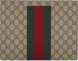 Gucci Pattern Amazing Lyst Gucci Web Stripe Gg Supreme Wash Bag For Men