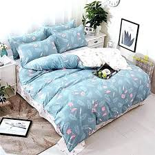 toile bedding sets blue and white bedding bedding sets star duvet cover blue white cartoon new