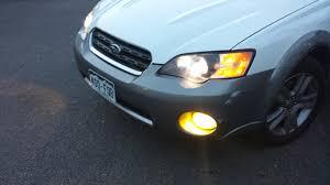 2013 Subaru Outback Fog Lights Led Fog Lights W Yellow Tint Subaru Outback Forums
