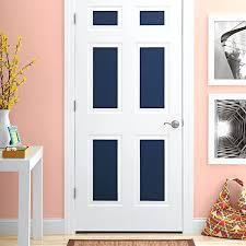 painted closet door ideas. Door Painting Ideas White Interior With Blue Painted Panels . Closet