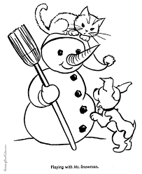 Coloring Pages Of Kittens To Print Throughout 15 Anavaloussa Com