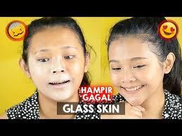 korean gl skin makeup tutorial di kulit indonesia asli hir al ririeprams