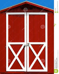 Red Barn Door Royalty Free Stock Photography - Image: 6395087