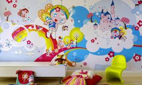 kids bedroom paint designs. Adorable Kids Bedroom Paint Color Schemes Ideas : Cute Fairy Tale Walls Decoraiton For Designs