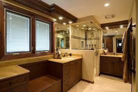 ... Fascinating Master Bath Designs Small Master Bathrooms White Wall  Ceramic Floor Cabinet Sink: ...