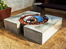 delighful fire image of concrete fire pit molds cement building for