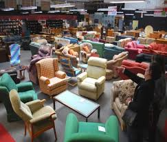 Furniture Inside A Second Hand Used Charity Shopeditorial Image