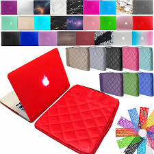 KK&LL <b>Matte Hard</b> Shell Laptop <b>case</b> For Apple MacBook Air Pro ...