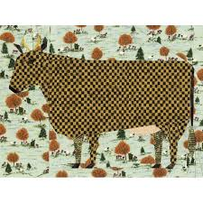 Art Cow Quilt Block Pattern & Folk Art Cow Quilt Block Pattern Adamdwight.com