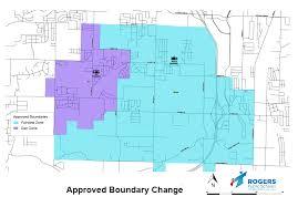 District Lines Size Chart Boundary Changes Rogers Public Schools