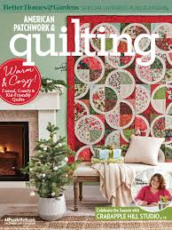 American Patchwork & Quilting Magazine Subscription | Magazine.Store &  Adamdwight.com