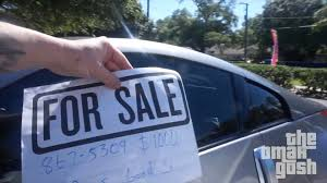 Car Sale Sign Template Putting For Sale Signs On Random Cars OmarGoshTV YouTube 7