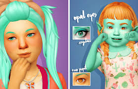 cupidjuicecc's Opal Eyes in Sorbet Remix (Regular version and version with  no pupils!) Palettes Preview 76x @noodlescc Sorbet Remix Orig… | Opal eyes, Opal,  Sims 4