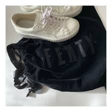puma by rihanna basket creepers glo 36226901 white patent leather shoes women whites 8 for