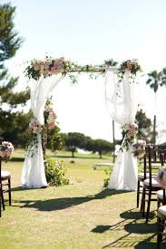 Classic Palos Verdes Cliffside Wedding by Chris and Kristen Photography -  Inspired By This. Altar Wedding ...